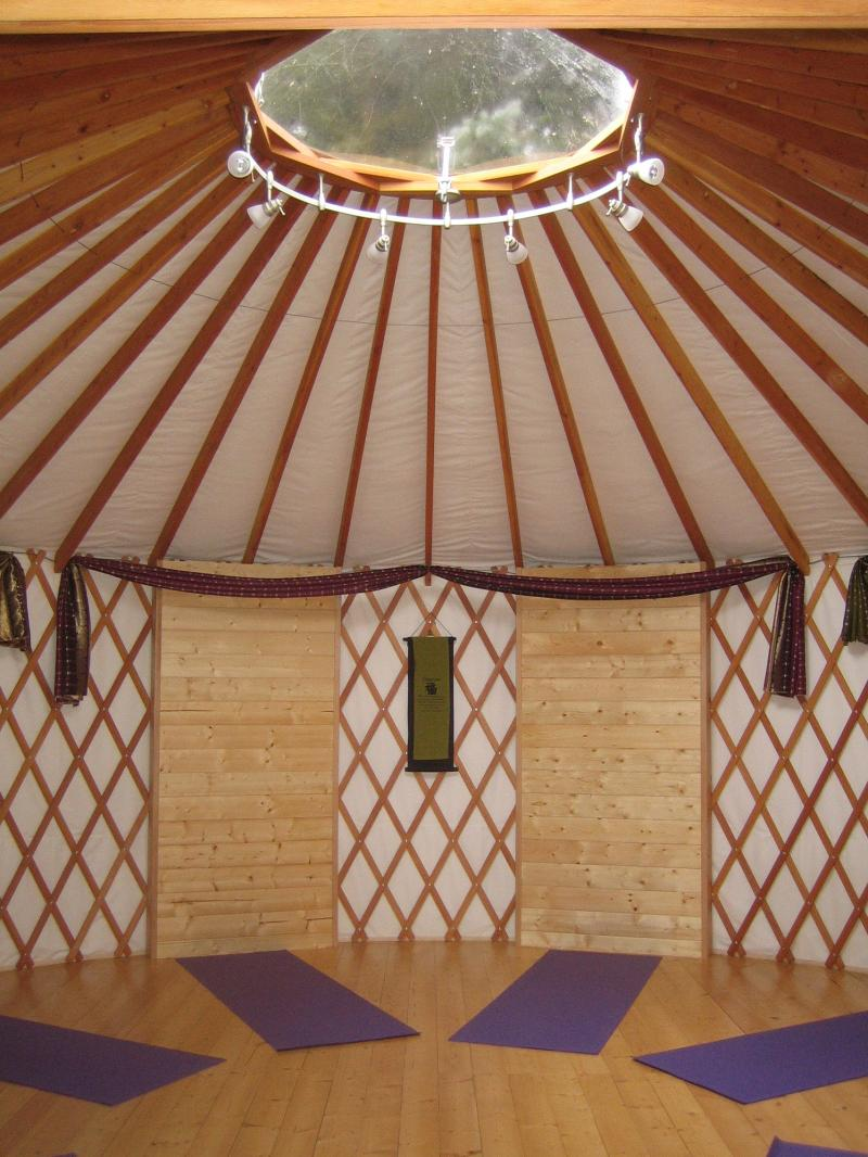 yurt inside new